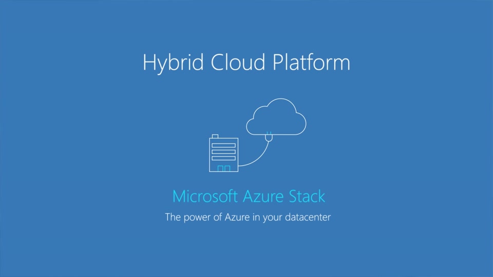 What is Microsoft Azure Stack ?